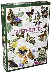 Cobblehill 80015 - Puzzle (1000 Piezas), diseño de Mariposas