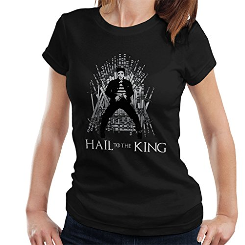 Game Of Thrones Hail To The King Elvis Presley Women's T-Shirt