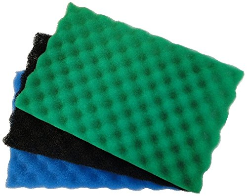 all-pond-solutions-garden-fish-pond-spare-replacement-filter-foam-sponge-set-medium-17-x-11-inch