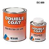 De IJssel Double Coat 2K Bootslack - Farbe Weiß/DC 800-1 kg Set - (2K Lack, Yachtlack, Decklack)