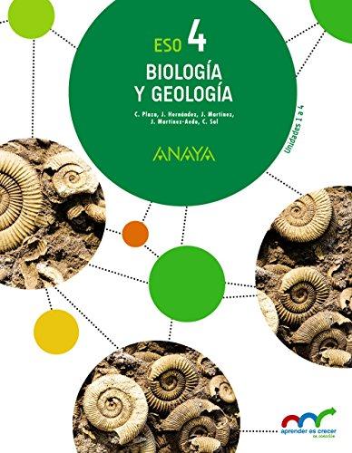Biología y Geología 4. (Aprender es crecer en conexión) - 9788469810750