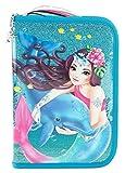 Depesche 8951Astuccio Custodia Deluxe, Fantasy Model Delfin con glitter