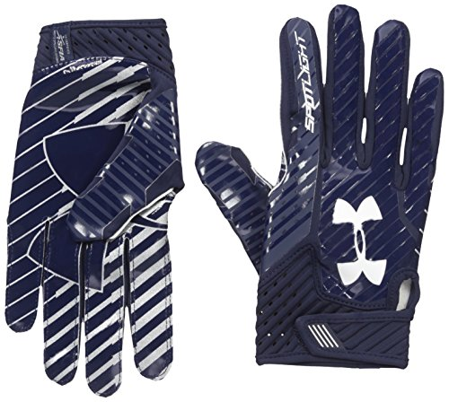 Under Armour Spotlight Amercian Football Receiver Handschuhe - navy Gr. L