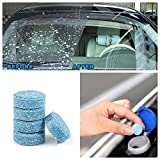CGT Car Liplsating Windshield Glass Washer Cleaner Tablets for Car Windshield (5 Pcs)