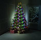 Tree Dazzler Weihnachtsgirlande mit 64LEDs, Fernbedienung, grün 180cm