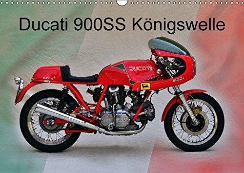 Ducati 900SS Königswelle (Wandkalender 2018 DIN A3 quer): italienische Motorradschmiede pur (Monatskalender, 14 Seiten ) (CALVENDO Mobilitaet)