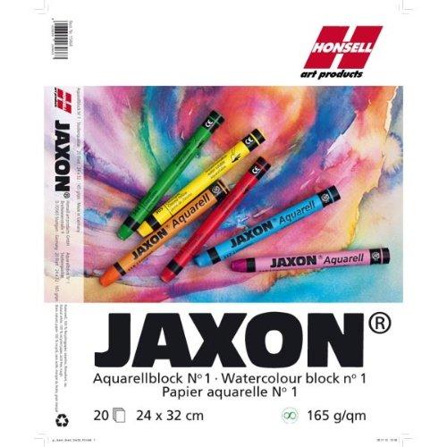 NEU JAXON Aquarellblock, 165g/qm, 24x32 cm [Haushaltswaren]