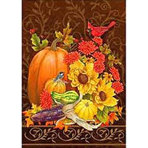 Autunno eleganza – Grandi dimensioni 71,1 x 101,6 cm Decorative Bandiera