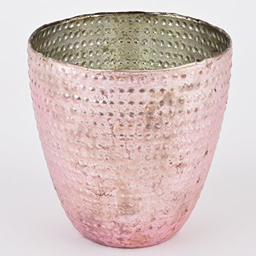 vase-india-vintage-design-glas-tischdeko-gefass-15x15x15cm-rosa
