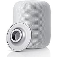YuStar - Soporte para Altavoz de Apple HomePod, Acero Inoxidable, Antideslizante, Base de Soporte para Apple Homepod