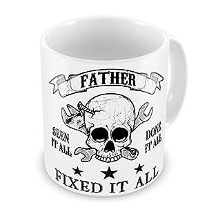 Vater Alles Gesehen das getan, alle festen ES alle Neuheit Geschenk Tasse