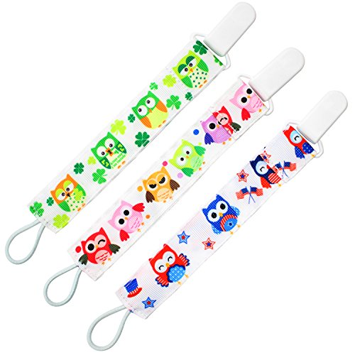 almondcy-dummy-clip-3-packs-modern-2-sided-stylish-design-best-pacifier-holder-for-girls-and-boys