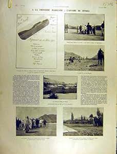 Copie 1903 de Jonnart Figuig Oudaghir de Guerre de Zenaga Maroc