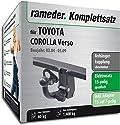 Rameder Komplettsatz, Anhängerkupplung abnehmbar + 13pol Elektrik für Toyota Corolla Verso (117502-05127-1)