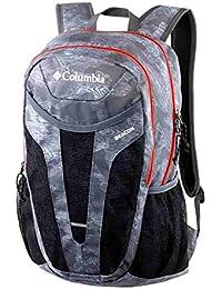 Columbia 6438771 - Mochila de senderismo, color Noir Gris Rouge