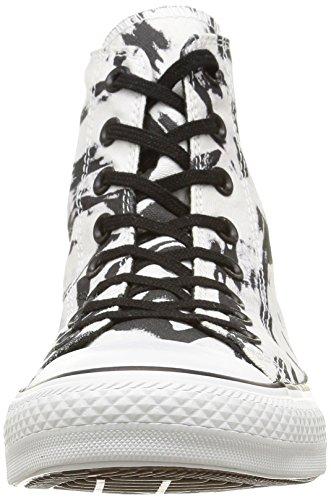 Converse Ct Print Hi, Herren Sneakers Weiß/Schwarz