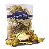 Lyra Pet® 100 Rinderohren ca. 4 kg Hundefutter Leckerli Snack Schweineohren NR 3