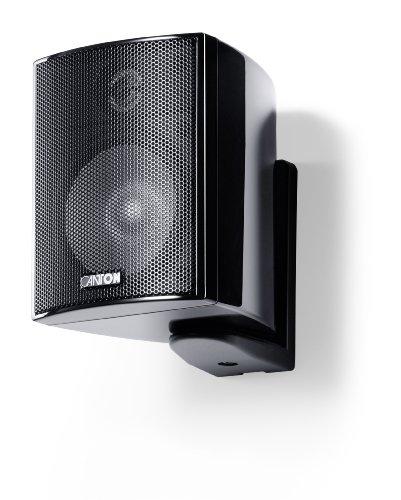 Canton Plus MX.3 Kleinlautsprecher (40/70 Watt) schwarz hochglanz (Paar)