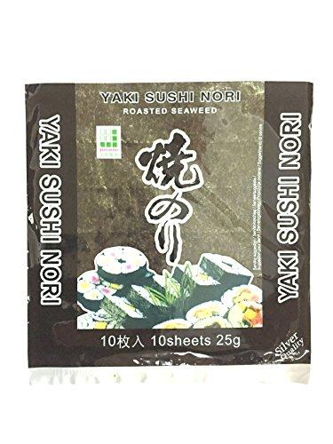Jhfoods Noris Varech Rôti Qualité Argent 25 g - Lot de 25