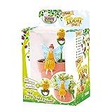 TOMY My Fairy Garden Mini Feen Topf Joy - Kreatives Spielzeug für Kinder ab 4 Jahre - die Natur entdecken und verstehen, 1x Pflanzset mit Fee Figur inkl. Bohnensamen