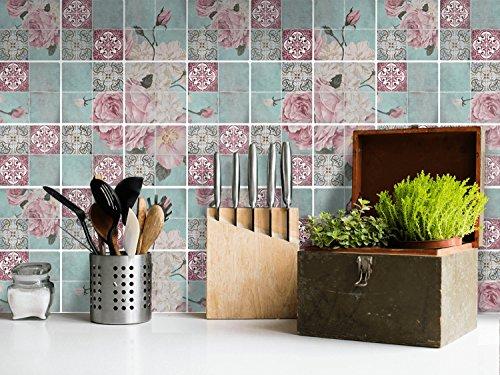 Adesivi murali in pvc per piastrelle bagno adesivo rivestimento