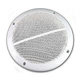 2x wetterfeste Marine Außen Einbau-Lautsprecher 100W 6,5
