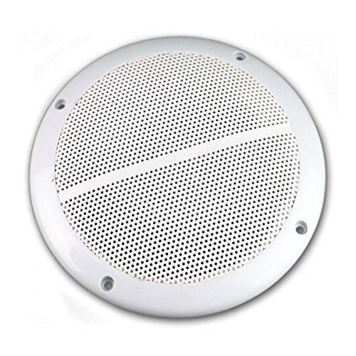 2x wetterfeste Marine Außen Einbau-Lautsprecher 100W 6,5' = 165mm