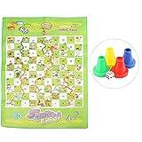 Alomejor Schach Teppich Kinder Pädagogisches Schach Spielzeug Set Kinder Interessante Interaktive Brettspiel Spielzeug für Familie Kinder Spaß Zeit