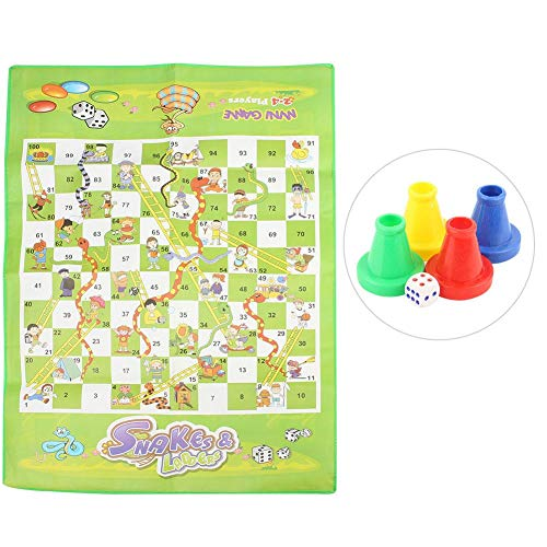 Alomejor Schach Teppich Kinder Pädagogisches Schach Spielzeug Set Kinder Interessante Interaktive Brettspiel Spielzeug für Familie Kinder Spaß Zeit (Für Kinder Pädagogische Brettspiele)