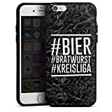 DeinDesign Apple iPhone 6s Silikon Hülle Case Schutzhülle Bier Beer Bratwurst