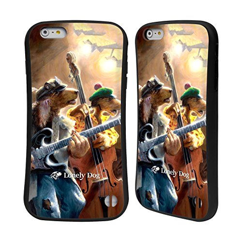 Ufficiale Lonely Dog Rightweb Dei Fratelli Trippleton Musica Case Ibrida per Apple iPhone 7 Plus Rightweb Dei Fratelli Trippleton