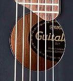 Yamaha GL1 Guitalele Guitare de format ukulélé avec sac de transport Noir
