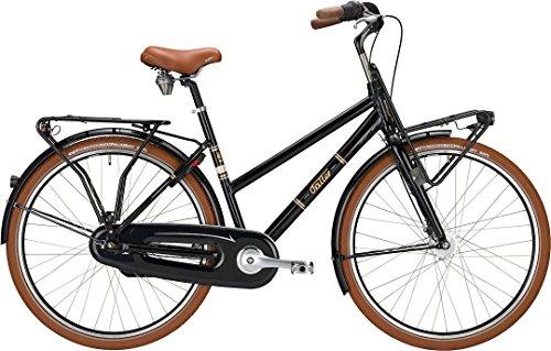 Citybike Falter Classic L 4.0 Cargo-Style 28' 7G Trapez in türkis oder schwarz Modell 2016, Rahmenhöhen:53 cm;Farben:schwarz