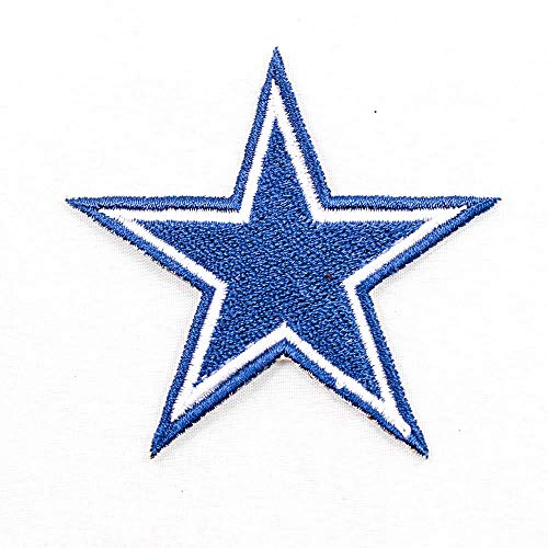 NFL * Amercian Football Team * Dallas Cowboys * Star Stern Logo EMBROIDERED PATCH Badge Aufnäher Bügelbild -