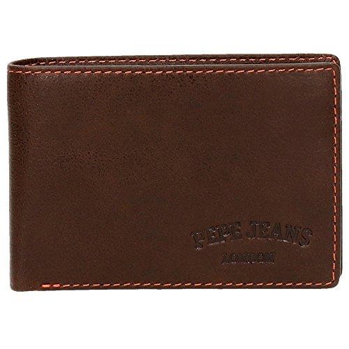 Pepe Jeans Jack Porte-Monnaie, 11 cm, Marron 7573452