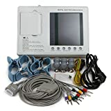 Denshine Patientenmonitor 7inch Farb LCD 3 Kanal 12 Blei ECG