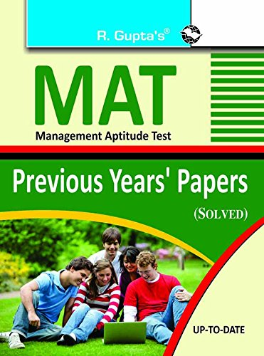 MAT - Prev. Papers Solved: Previous Years' Papers Solved