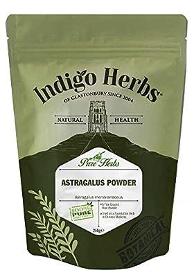 Indigo Herbs Astragalus Powder 250g by Indigo Herbs of Glastonbury