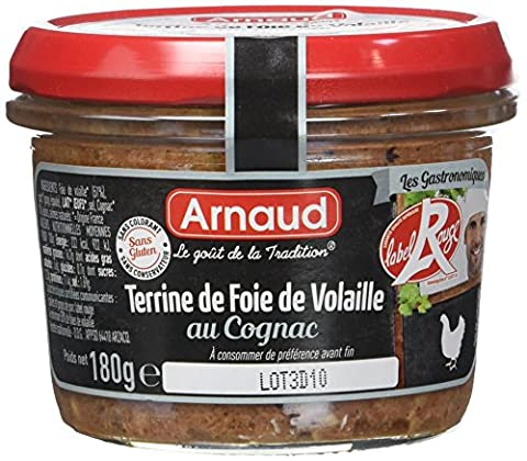 Label Rouge - ARNAUD Terrine de Foie de Volaille Label