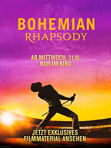 "Bohemian Rhapsody - Exklusives Featurette""Becoming Freddie"""