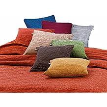 Melange fodera cuscino varie misure - GRIGIO, 50x50 cm.