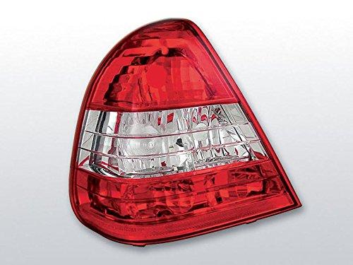 feux-arriere-kit-mercedes-benz-w202-classe-c-limousine-bj-0693-0600-verre-transparent-rouge-chrome