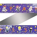 I Wanna Be... Foil Party Banners 3pk Nurse,Policeman,Fireman,Astronaut,Popstar