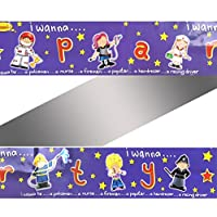 I Wanna Be... Foil Party Banners 3pk Nurse,Policeman,Fireman,Astronaut,Popstar
