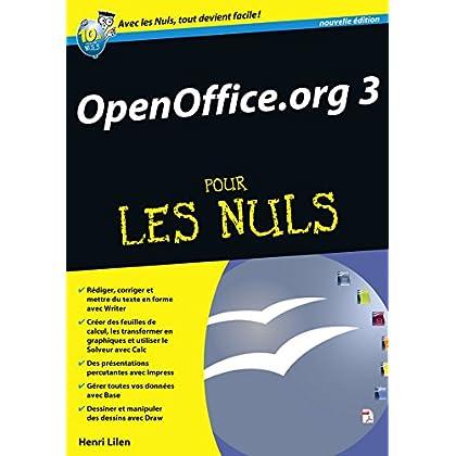 OpenOffice.org 3.X Mégapoche Pour les nuls (MEGAPOCHE NULS)