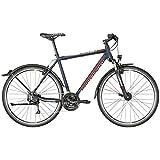 Bergamont Helix 4.0 EQ Cross Trekking Fahrrad blau/rot/grau 2018: Größe: 56cm (178-186cm)