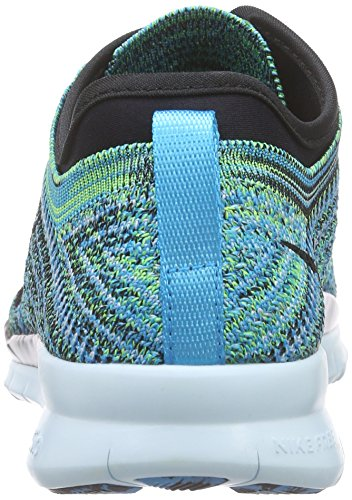 Nike Free Tr Flyknit Damen Laufschuhe Türkis (Blue Lagoon/Black/Copa/Glacier Blue)
