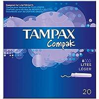 Tampax Compak Applikator Tampons Lites (20) - Packung mit 2 preisvergleich bei billige-tabletten.eu