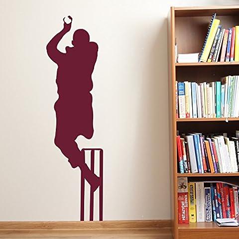 Cricket di StickerStudio Pams-Adesivo da parete, Bianco, Medium 28cm x