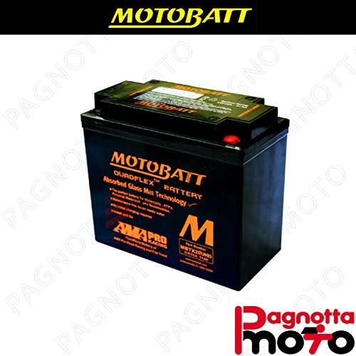 E06035 BATTERIA BATTERY MOTOBATT MBTX20UHD HARLEY DAVIDSON FXDF FAT BOB 1584 2008>2010 12 V 21_0 AH 175 X 87 X 155 MM ACIDO